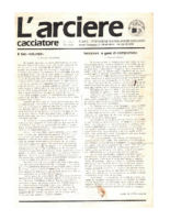 L'arciere cacciatore gennaio 1987