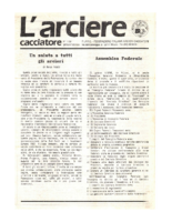 L'arciere cacciatore gennaio febbraio 1988