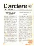 L'arciere cacciatore luglio agosto 1987
