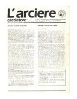 L'arciere cacciatore maggio-giugno 1987