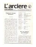 L'arciere cacciatore maggio giugno1988