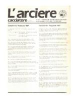 L'arciere cacciatore marzo aprile 1987