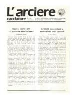 L'arciere cacciatore marzo aprile 1988